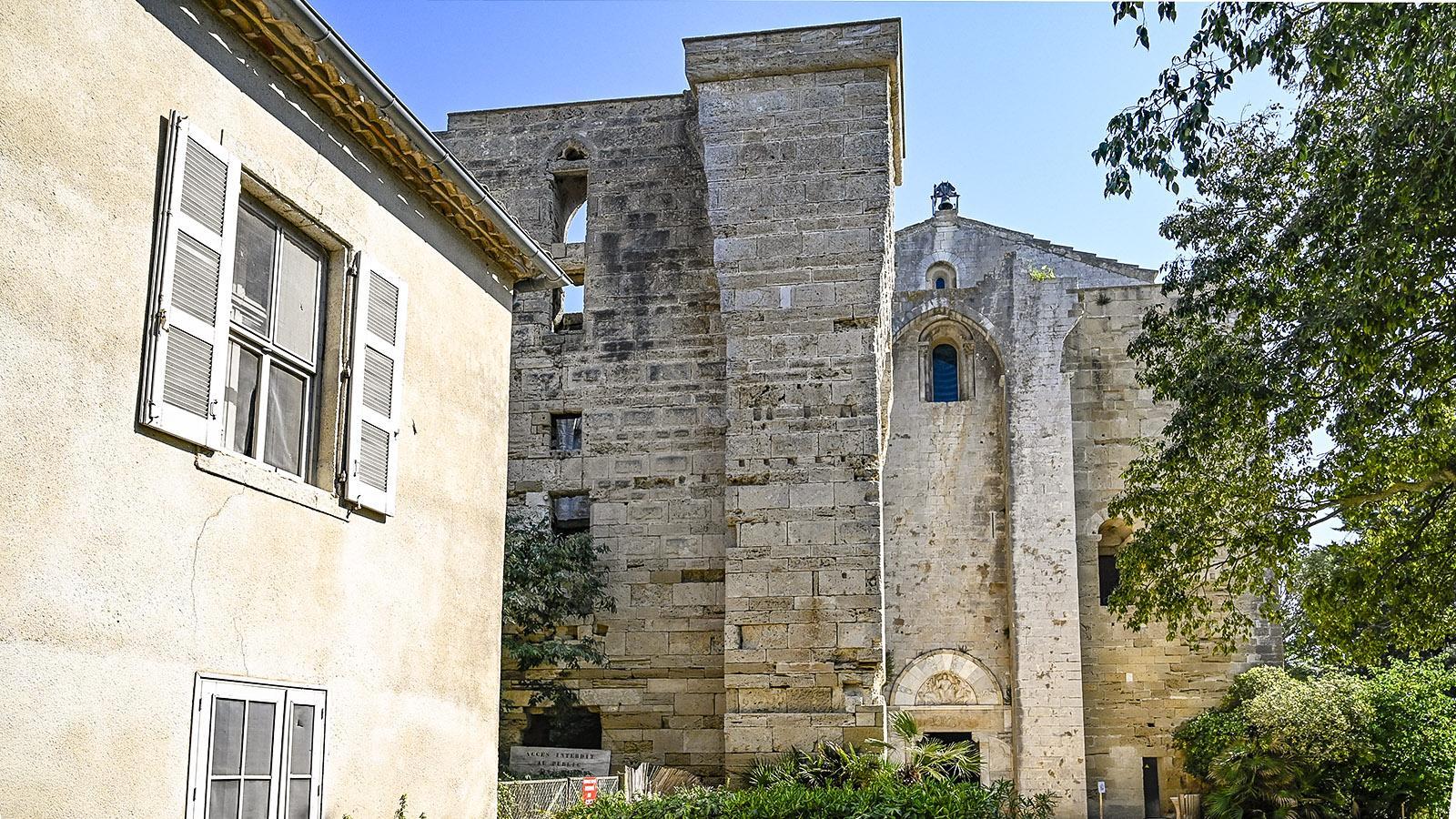 Die ehemalige Kathedrale von Maguelone. Foto: Hilke Maunder