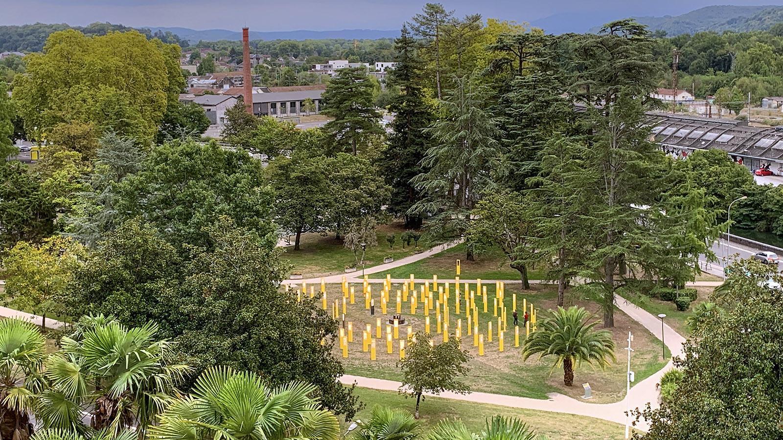 Die Tour des Géants in Pau. Foto: Hilke Maunder