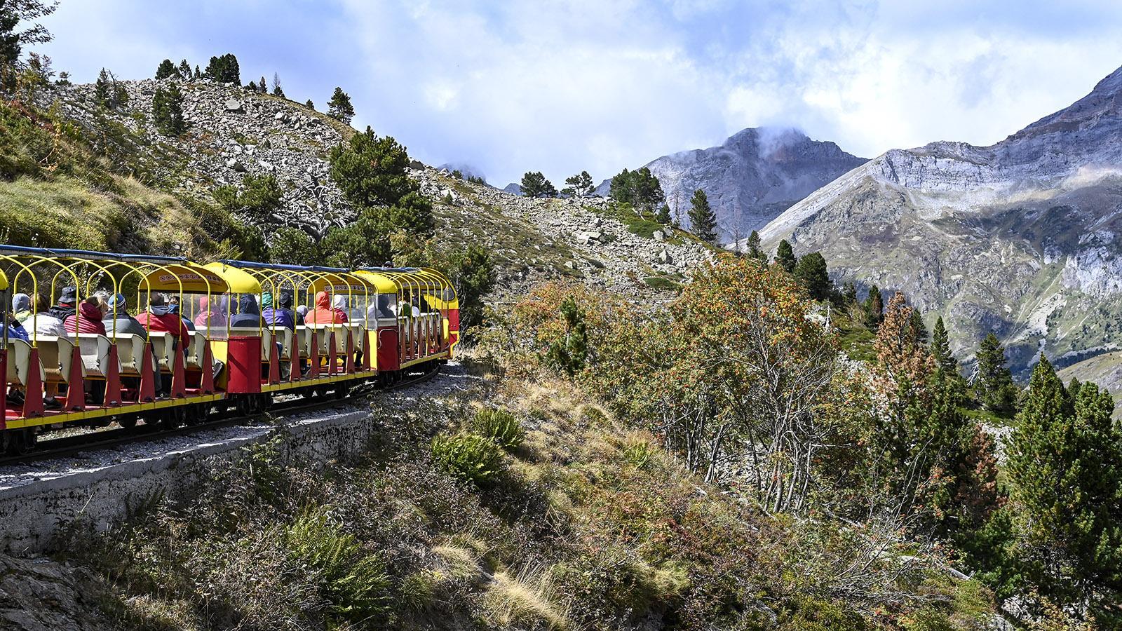 Petit Train d'Artouste. Foto: Hilke Maunder