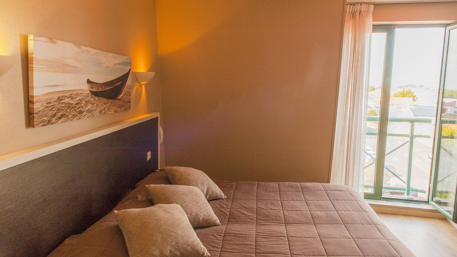 """Sardine. Als """"radlerfreundlich"""" ausgezeichnet: das Hôtel La Sterne im Herzen von La Croix-de-Vie. Foto: Hilke Maunder"""
