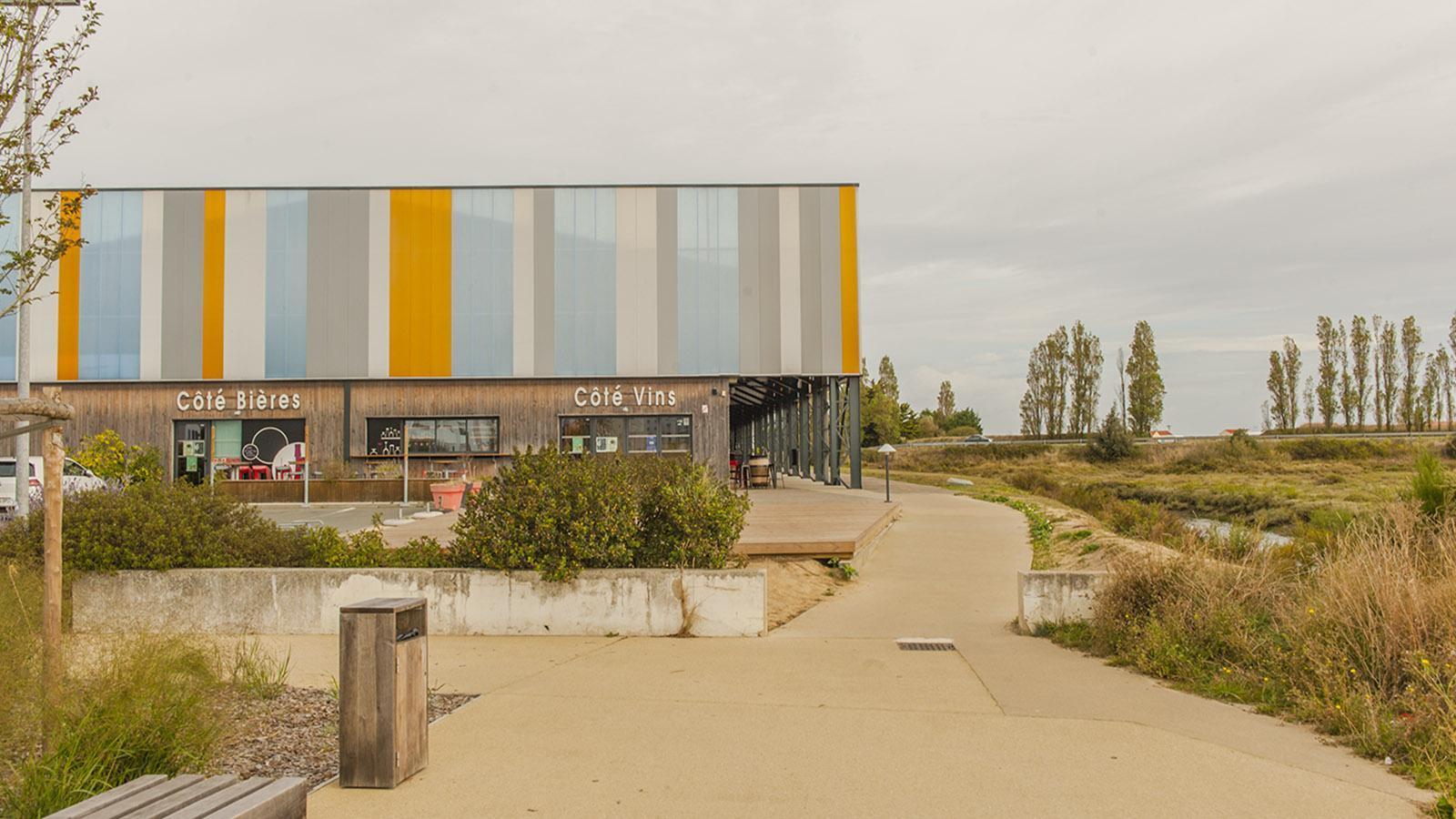 Sardine: DIe Markthalle von Saint-Gilles-Croix-de-Vie. Foto: Hilke Maunder