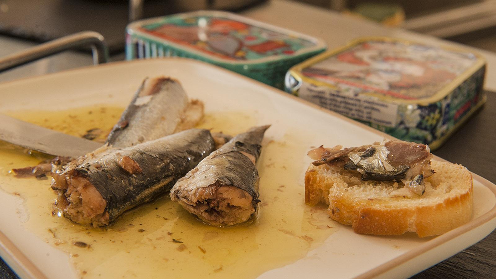 Sardine: Beliebt zum Apéro: die Sardine. Foto: Hilke Maunder