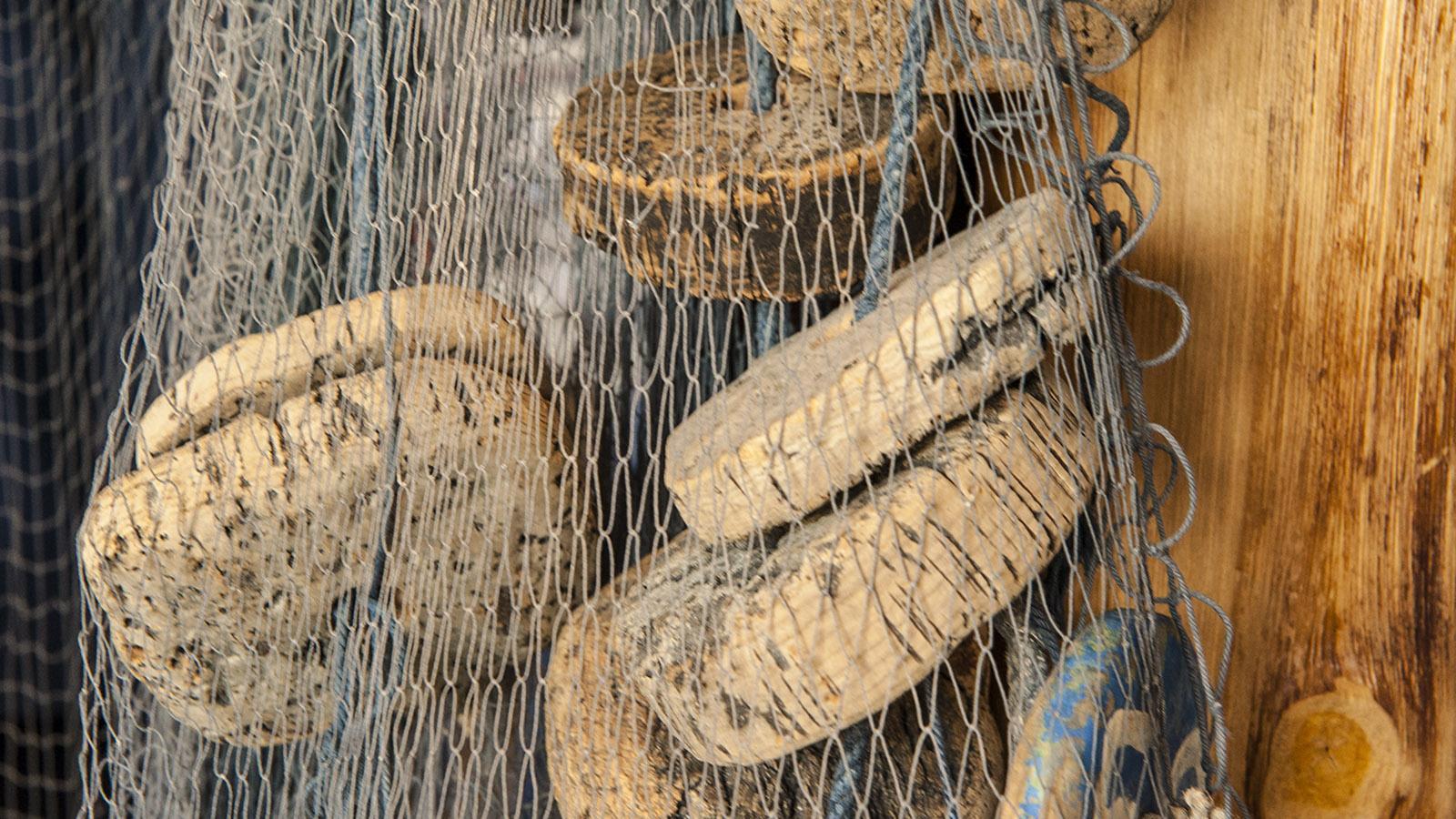 Mit diesen Netzen wird die Sardine gefangen. Foto: Hilke Maunder
