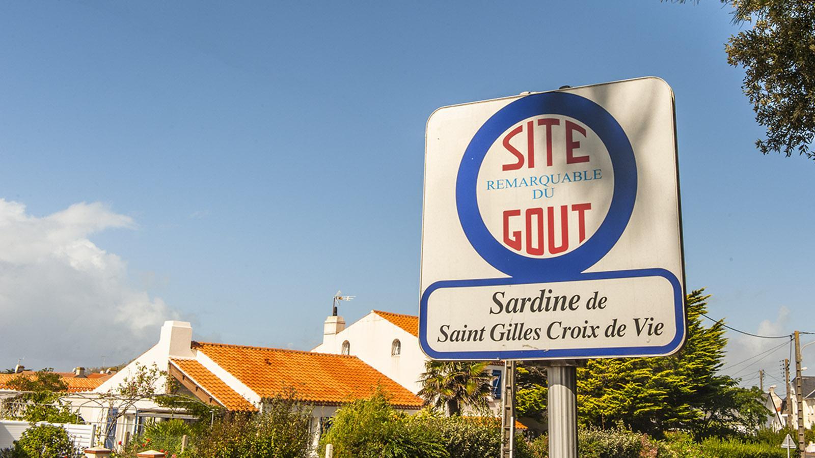 Der Sardine verdankt Saint-Gilles die Auszeichnung als bemerkenswerter Ort des Geschmacks. Foto: Hilke Maunder