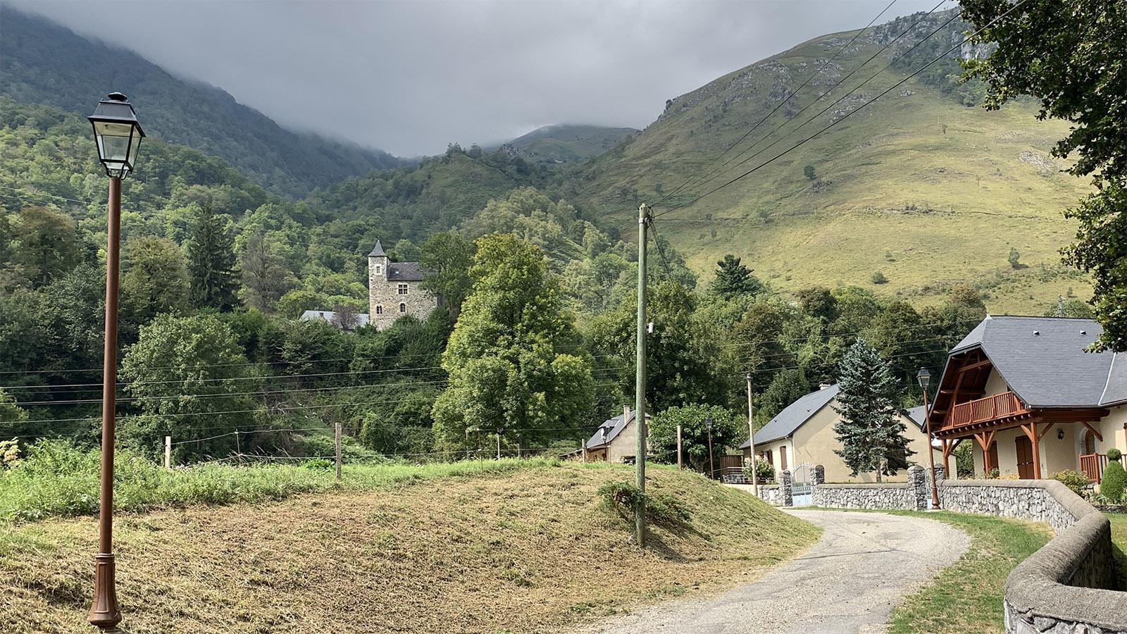 Das Château de Gère im Ossau-Tal. Foto: Hilke Maunder