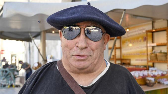 Jean-Bernard Raison aus Florac trägt seit Jahrzehnten nur das Béret. Foto: Hilke Maunder