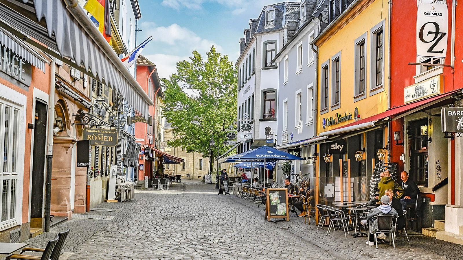 In der Altstadt von Saarlouis. Foto: Hilke Maunder