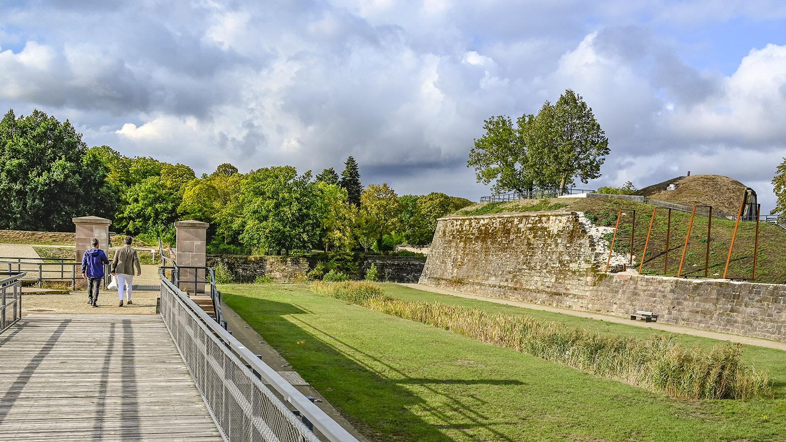 Saarlouis: Bastion VI. Foto: Hilke Maunder