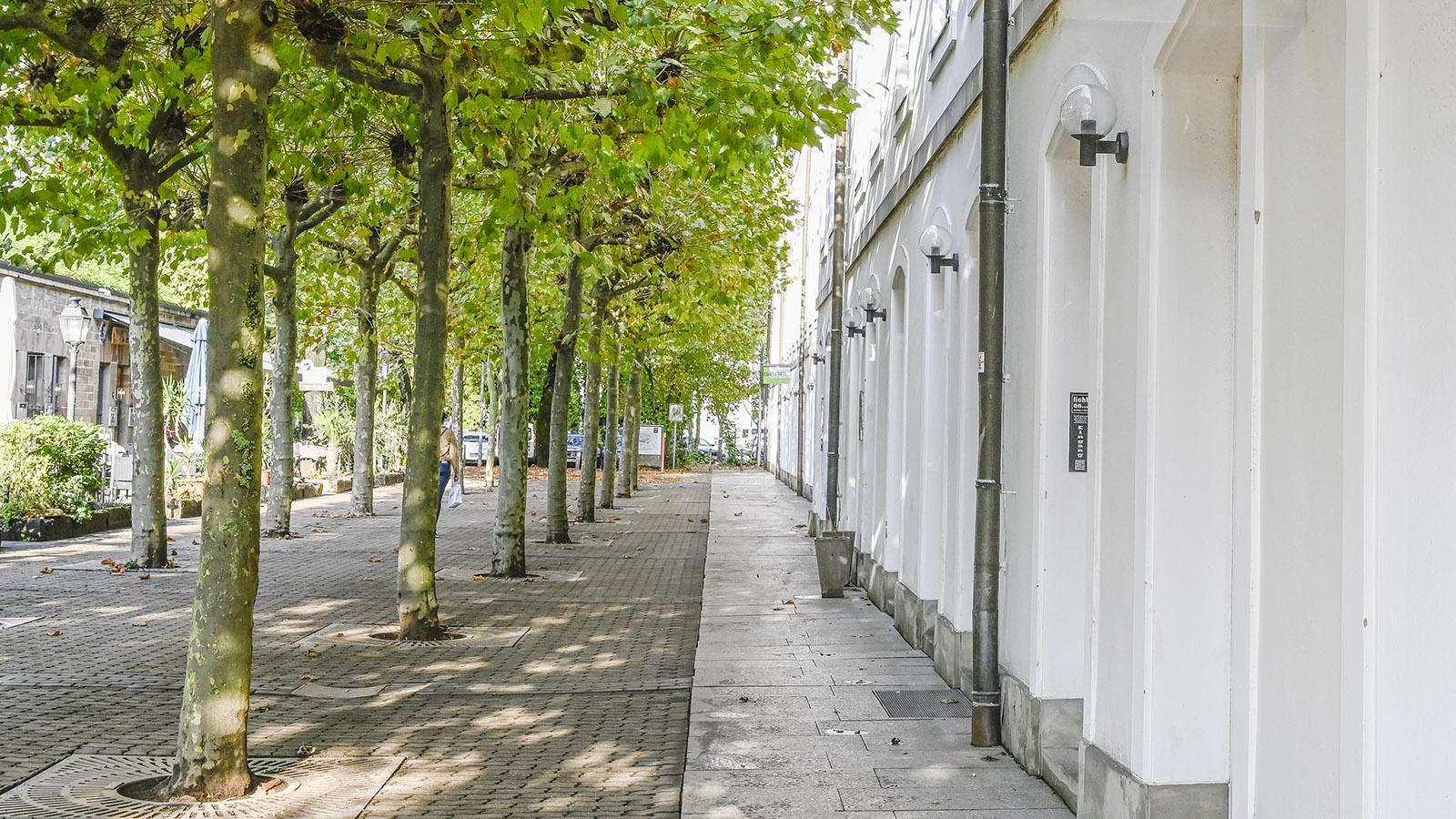 Die letzte erhaltene Kaserne der Franzosenzeit birgt heute Wohnungen und ein Lampengeschäft. Foto. Hilke Maunder