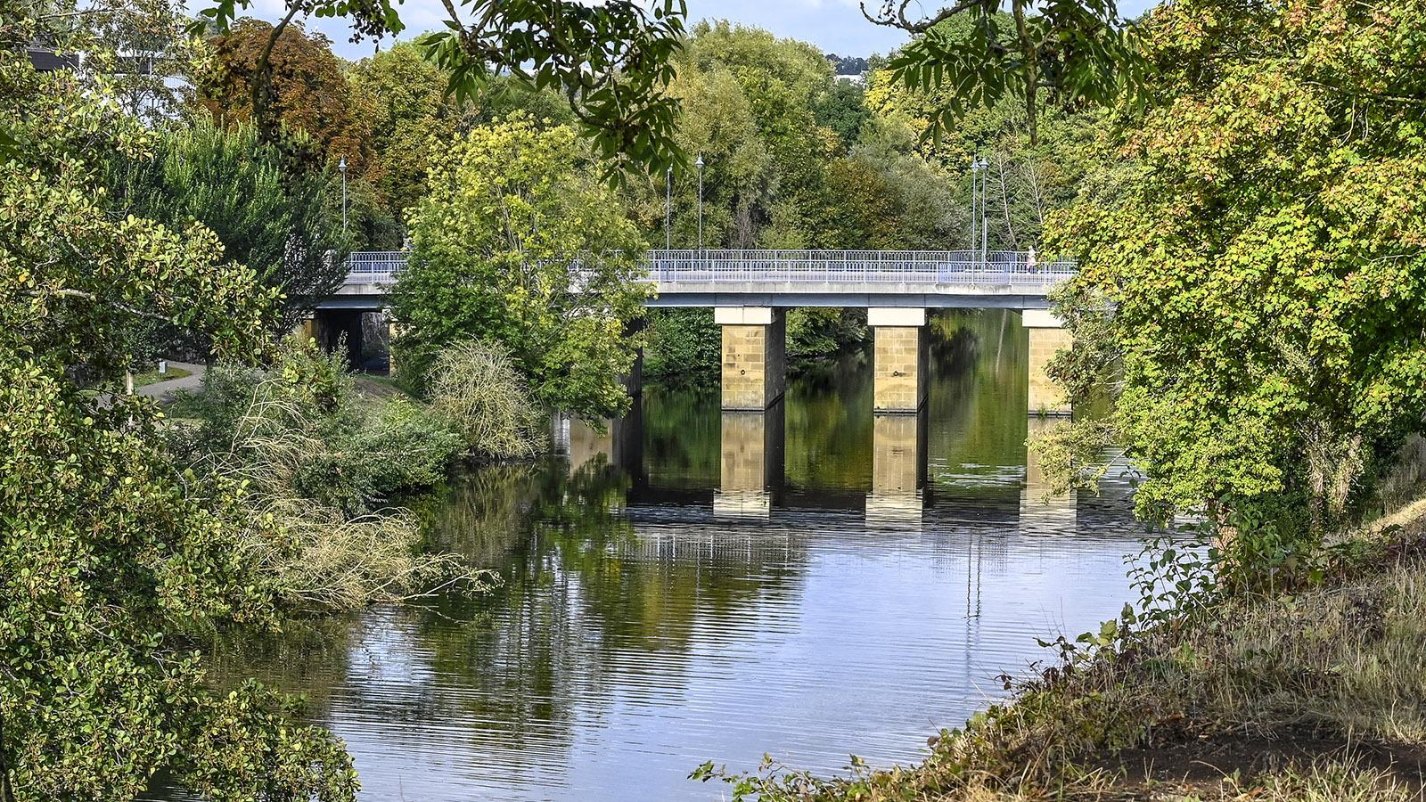 Der pont-écluse von Saarlouis. Foto: Hilke Maunder