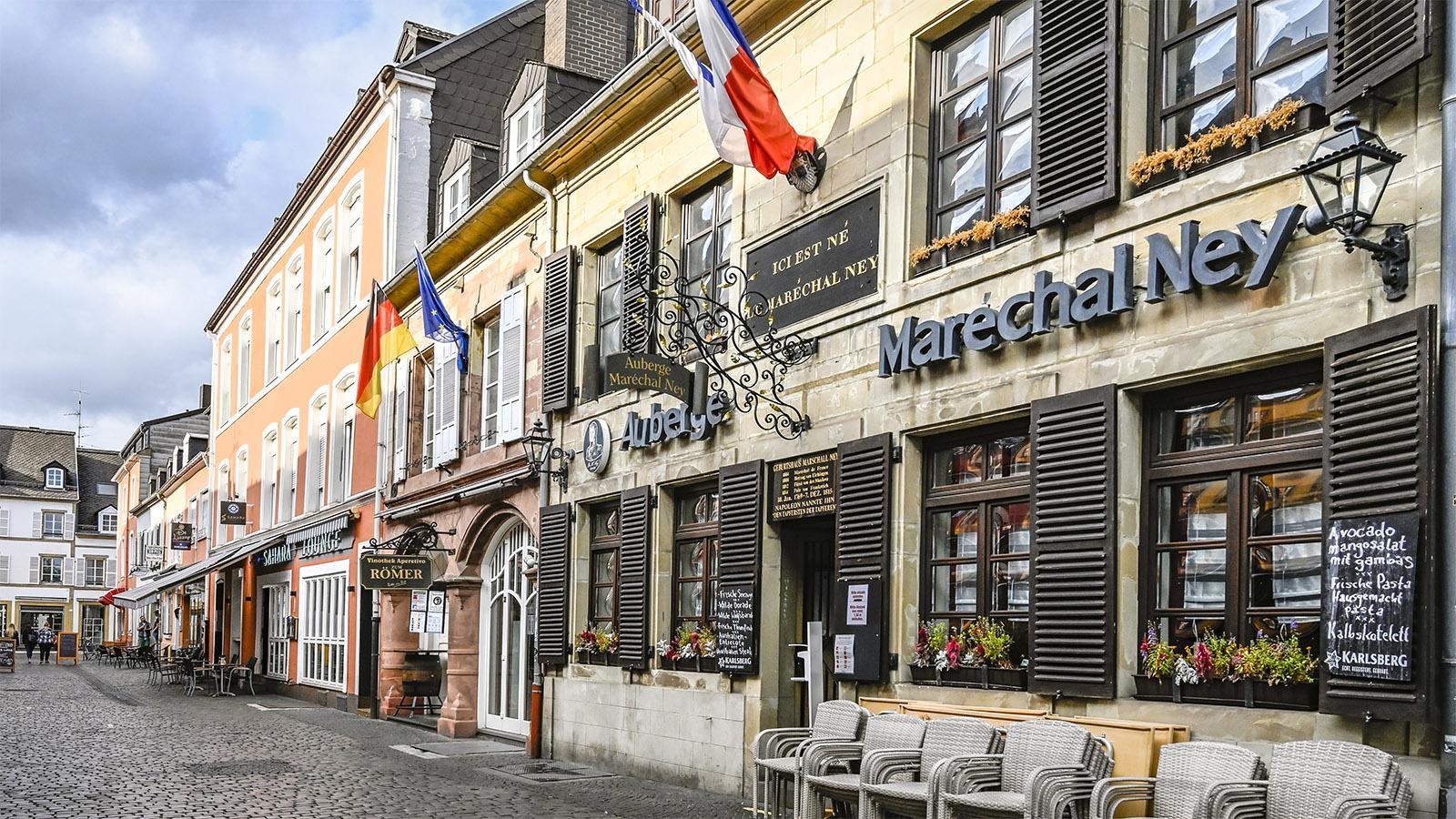 Saarlouis: In diesem Haus wurde Maréchel Ney geboren. Foto: Hilke Maunder