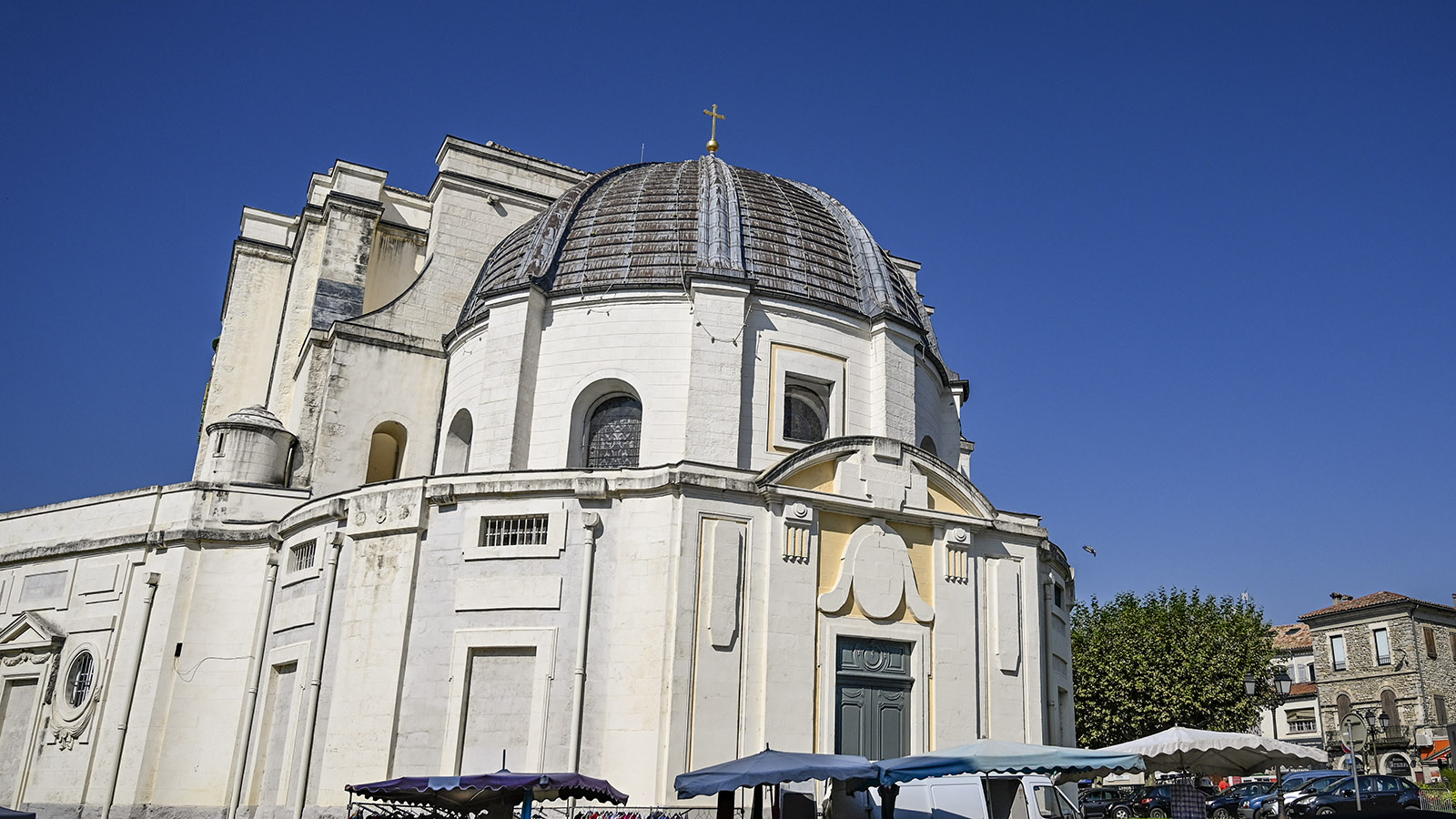 Cathédrale Saint-Jean-Baptiste. Foto: Hilke Maunder