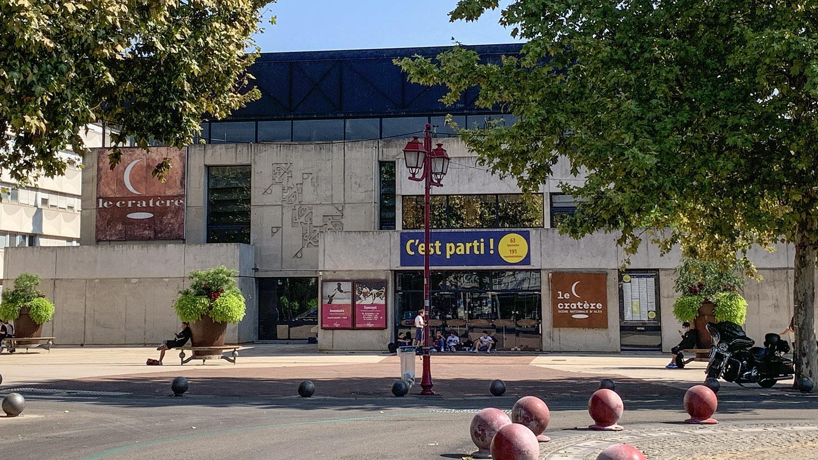 Alès: die Staatstheater Le Cratère. Foto: Hilke Maunder