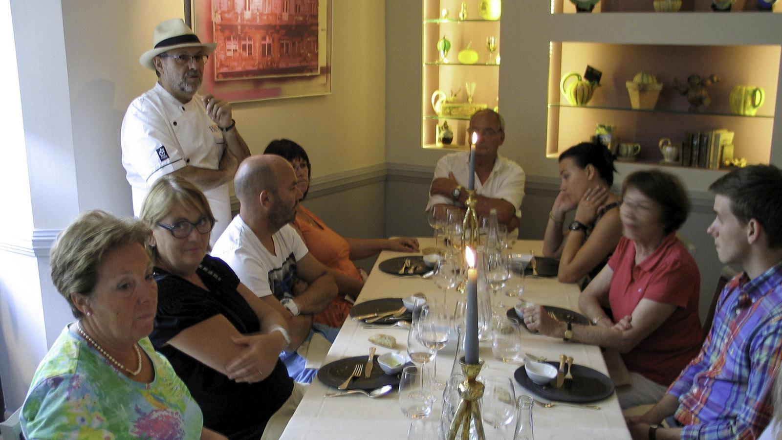 Unser Kochkurs beim Sternekoch Prévot. Foto: Karl-Heinz Stabel