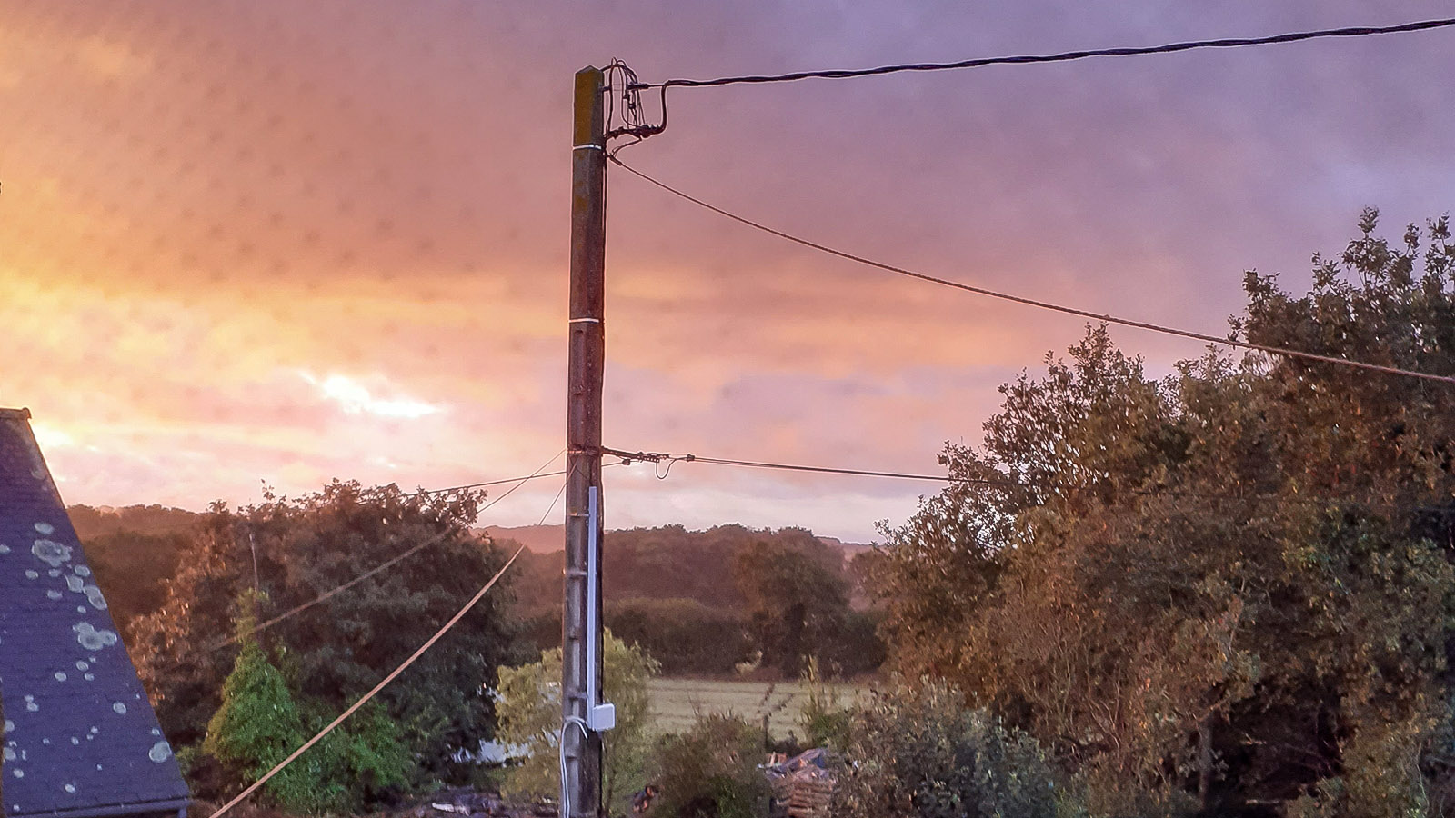Bretonische Morgenröte. Foto: Silvia Wiggers