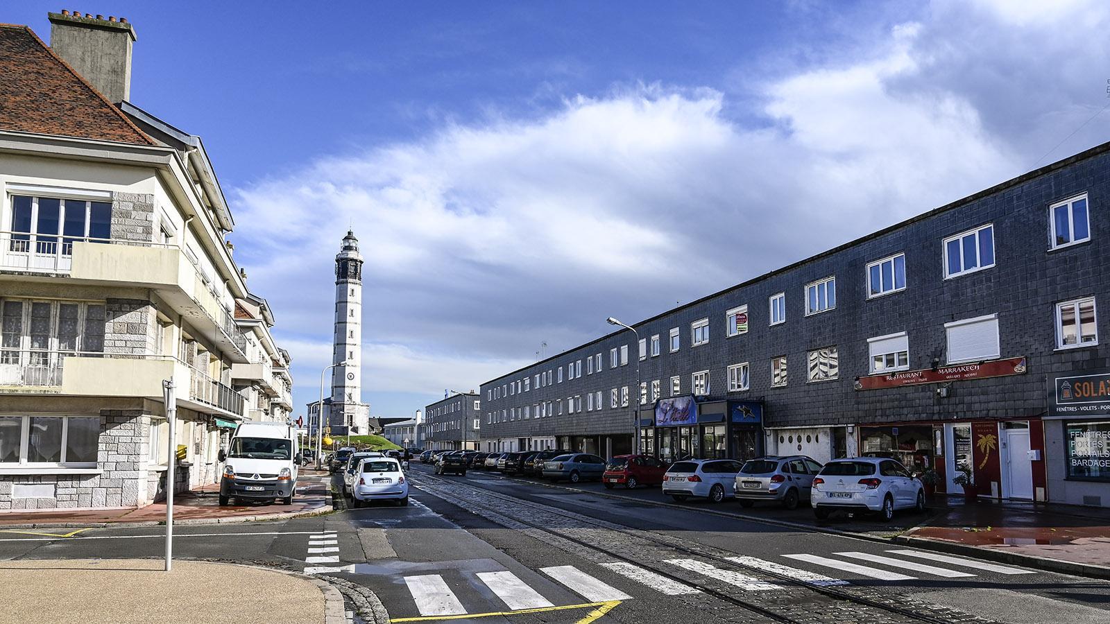 Der Leuchtturm von Calais. Foto: Hilke Maunder