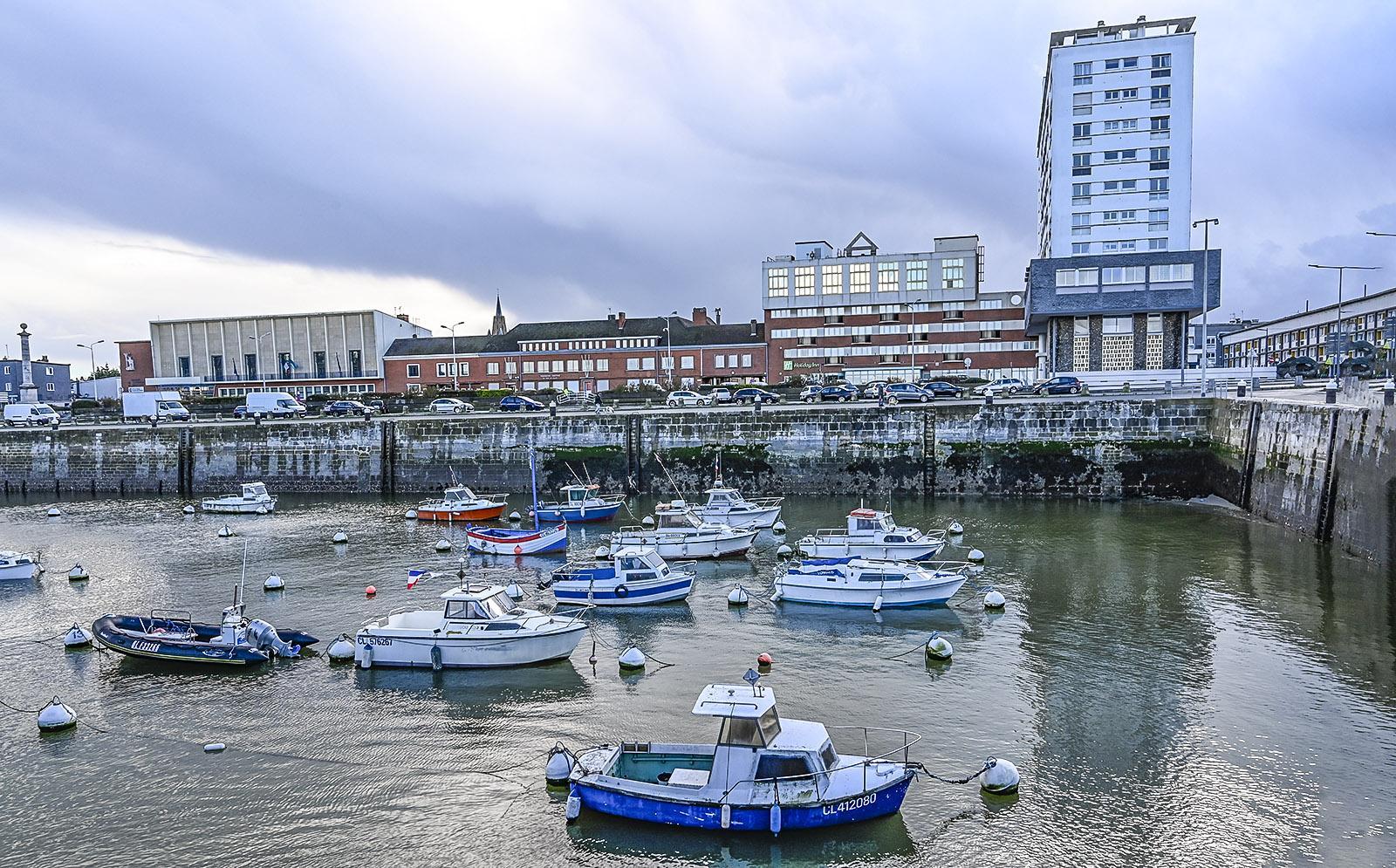 Calais: Das Bassin du Paradis des Hafens von Calais. Foto: Hilke Maunder