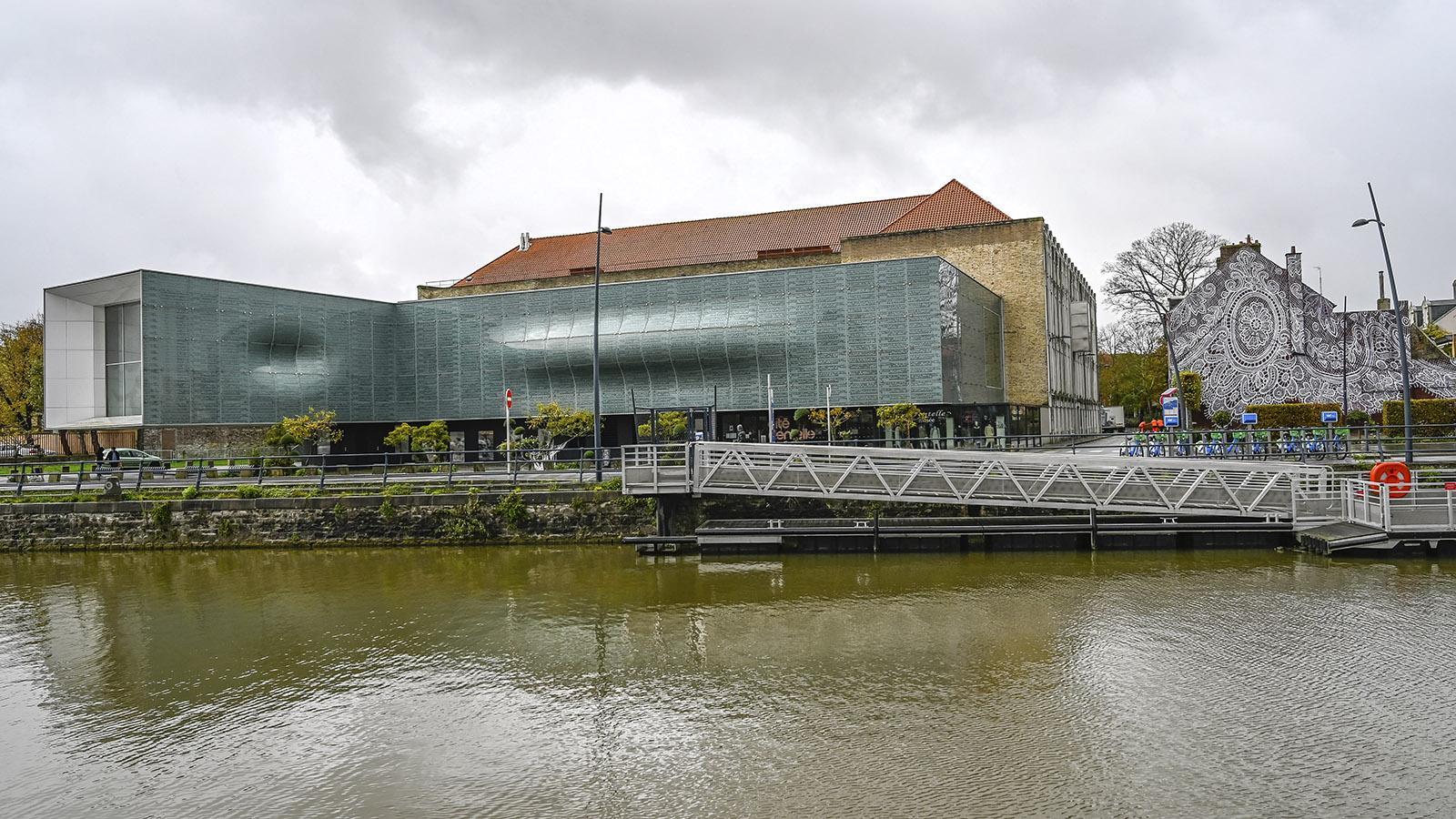 Die Cité de la Dentelle von Calais. Foto: Hilke Maunder