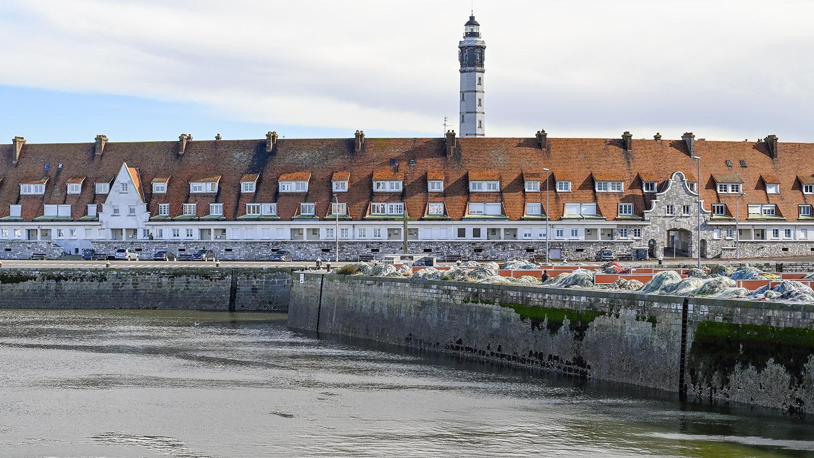 Der Quai Auguste Delpierre von Calais. Foto: Hilke Maunder