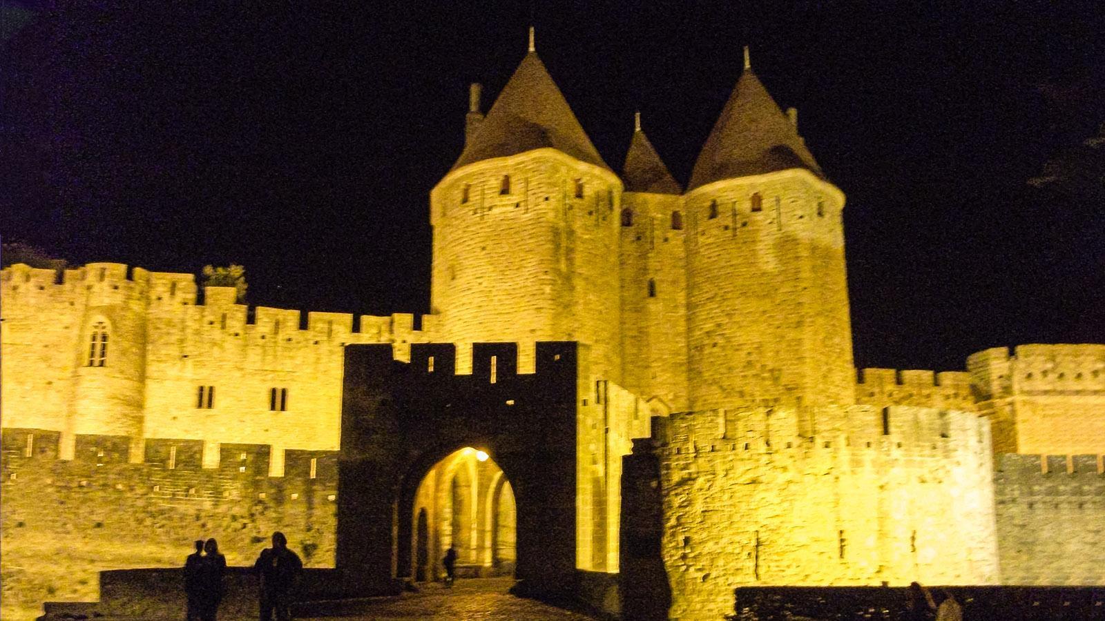 Carcassonne bei Nacht. Foto: Sven-Uwe Schulteis
