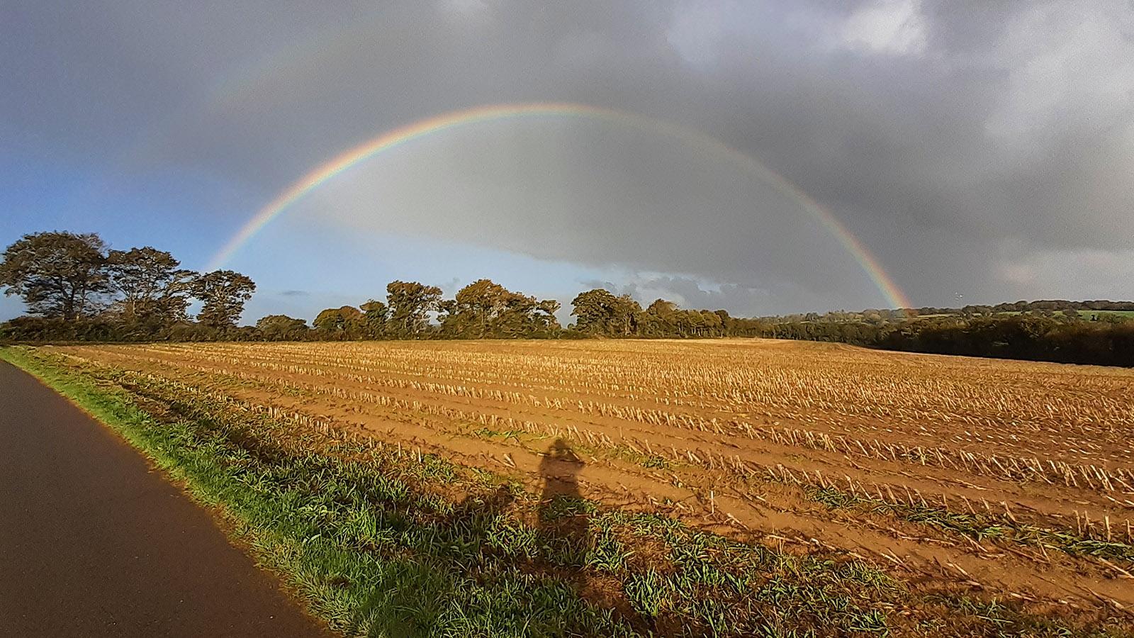 Den Goldschatz am Ende des Regenbogens haben wir noch nicht gefunden. Foto: Silvia Wiggers