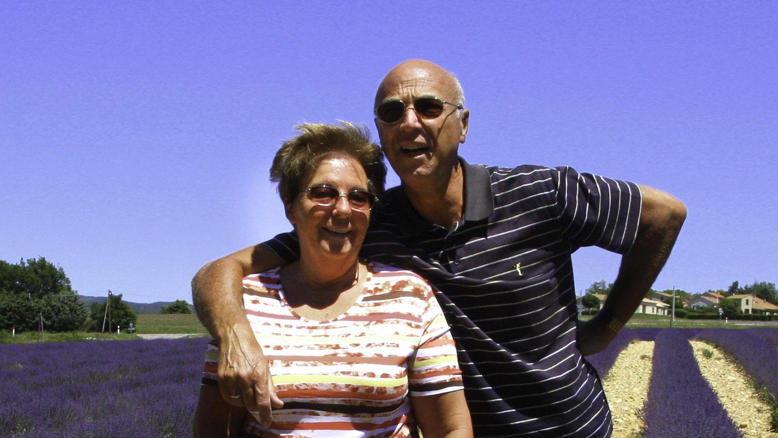 Karl-Heinz Stabel mit seiner Frau. Foto: Karl-Heinz Stabel