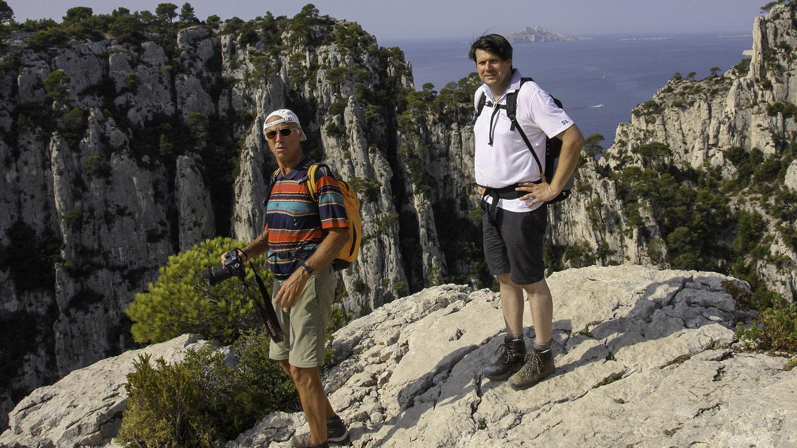 Wanderung in den Calanque von Cassis. Foto: Karl-Heinz Stabel