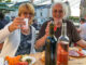 Beim Dorffest mit meinem Mann. Foto: Ute Neufeldt-Nehe
