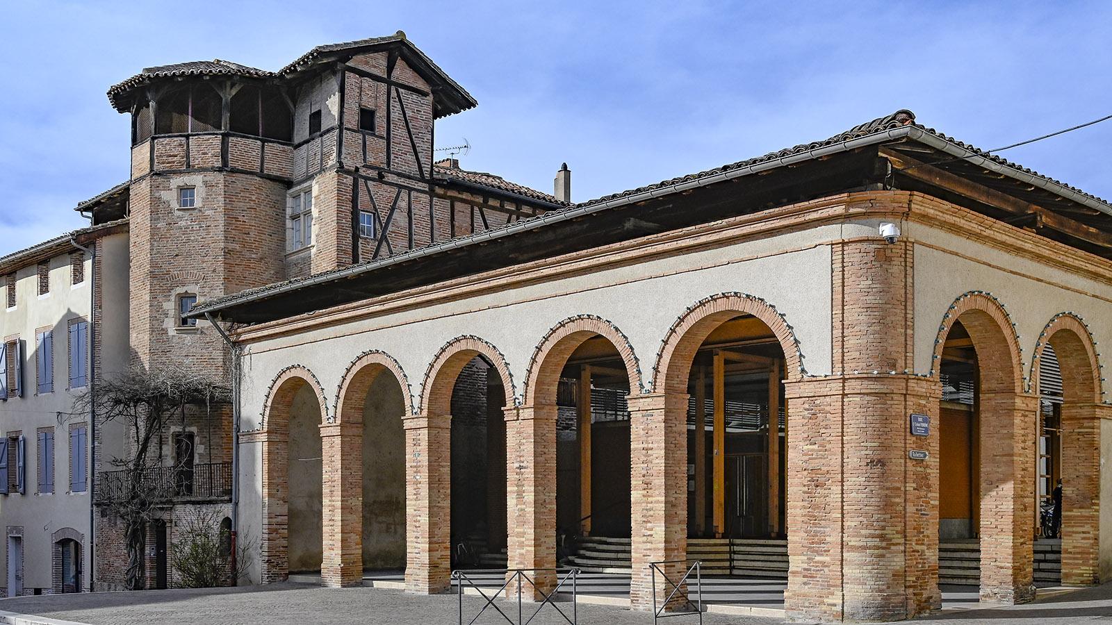 Die Markthalle von Gaillac. Foto: Hilke Maunder