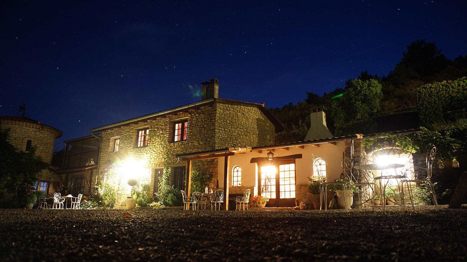 Grange du Vercors: eine Sommernacht. Foto: Niklas Lenhardt
