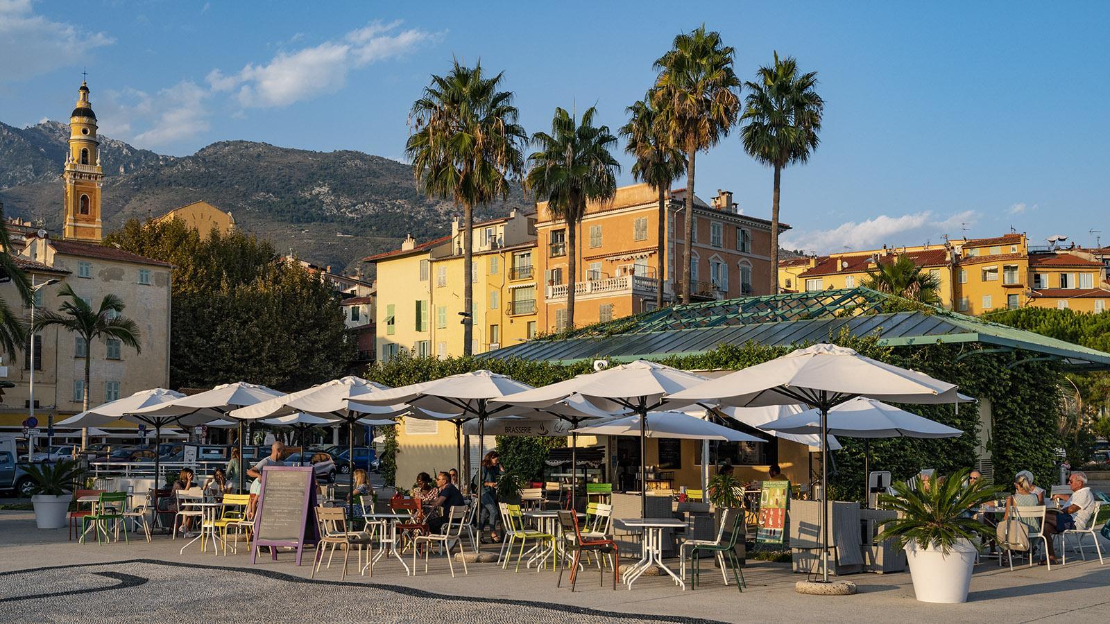 Das Café du Parvis. Foto: Hilke Maunder