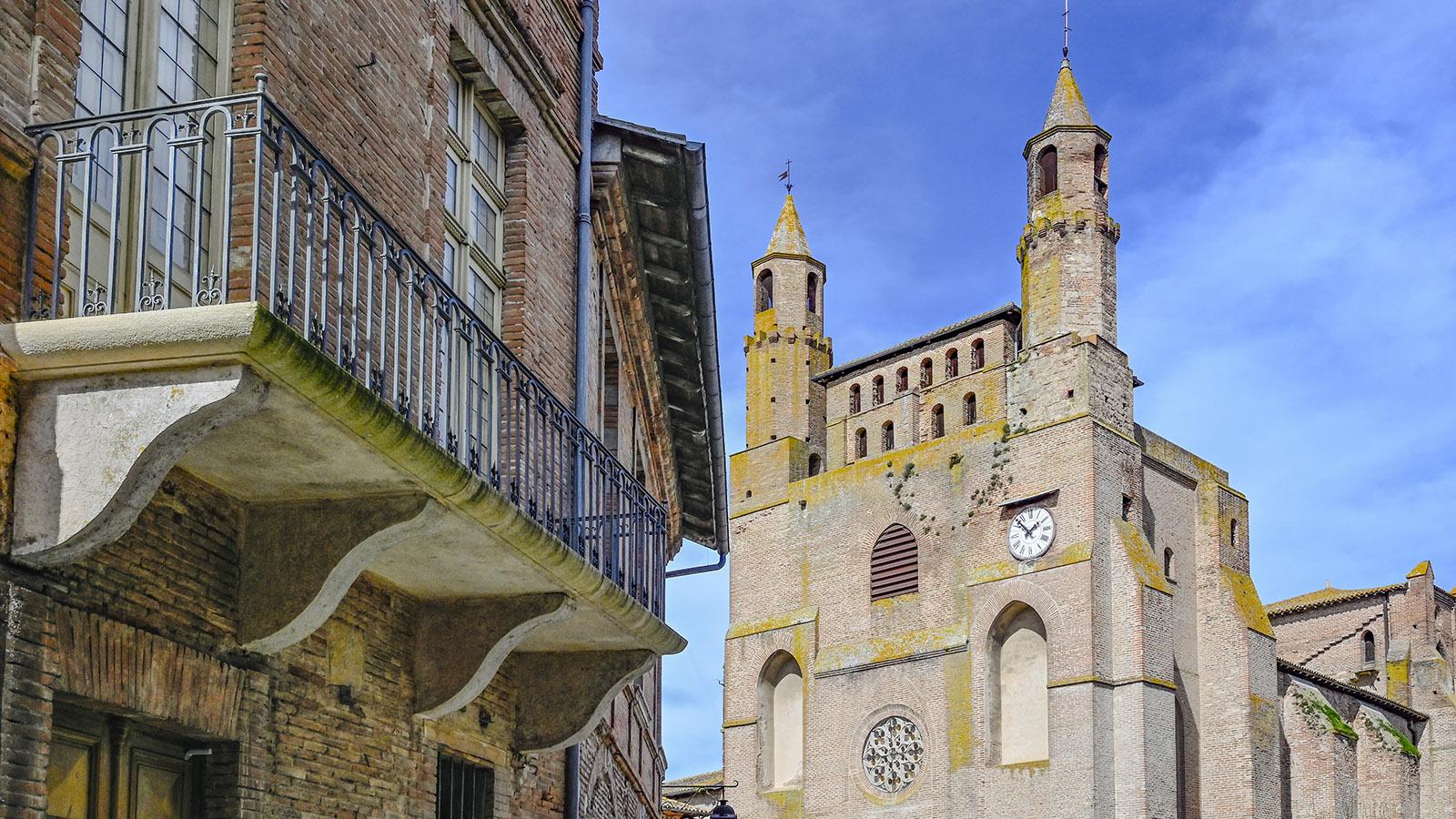 Rabastens: Notre-Dame du Bourg. Foto: Hilke Maunder