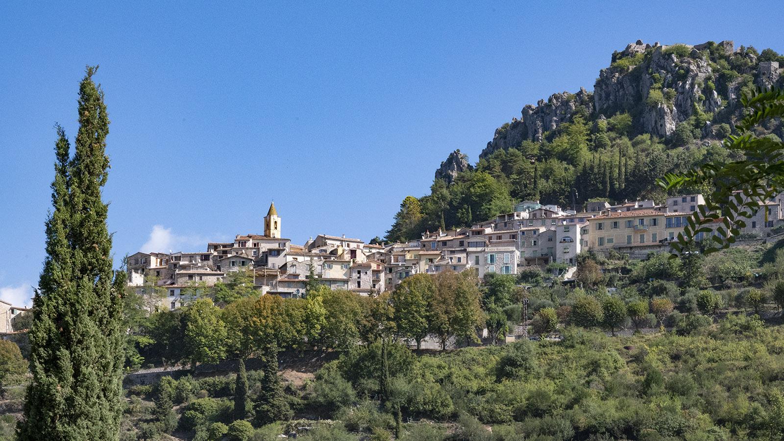 Saint-Agnès, ein <em>village perché</em> im Hinterland von Menton.
