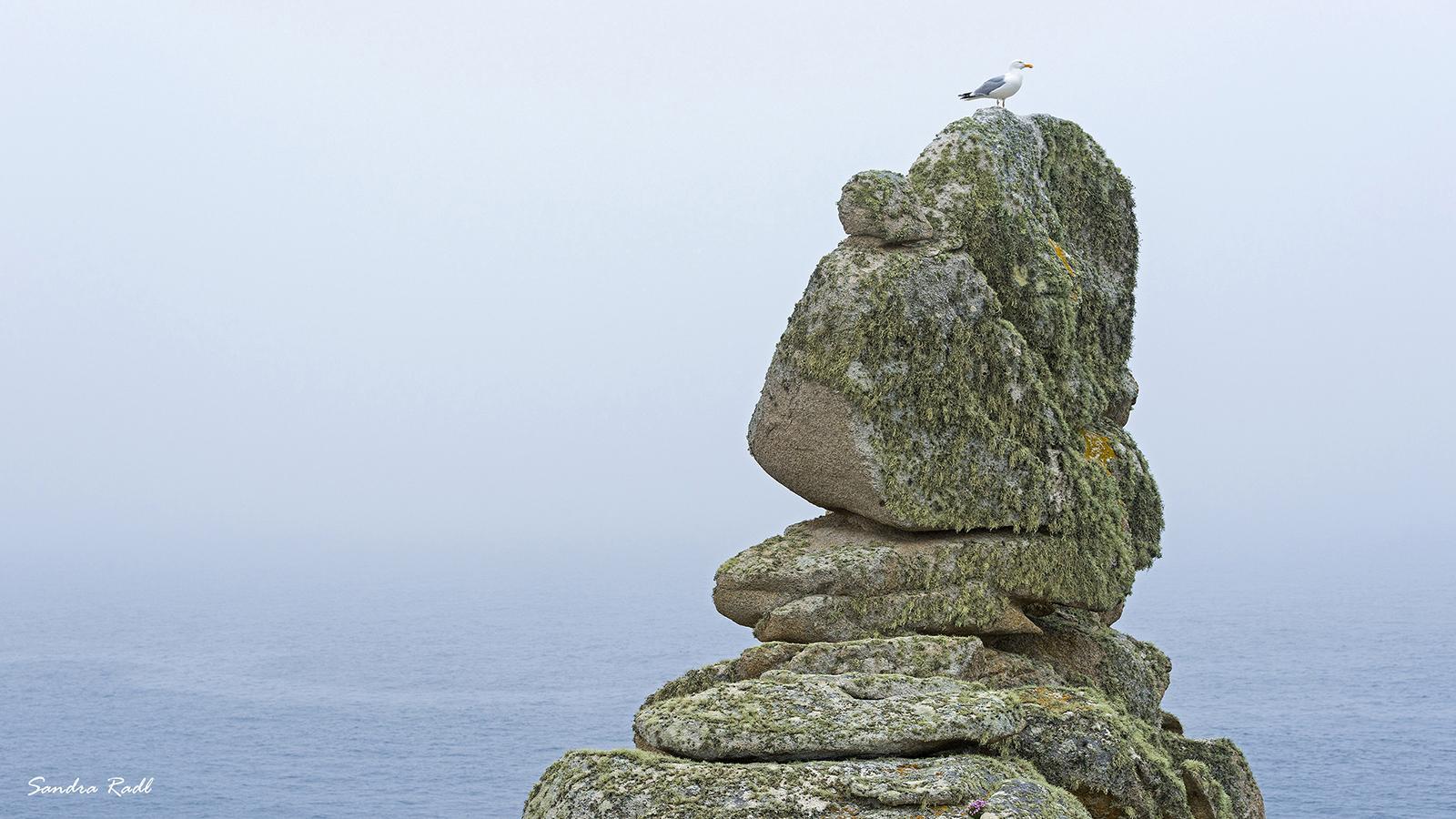 Bizarre Felsen am Pointe de Pern. Foto: Sandra Radl