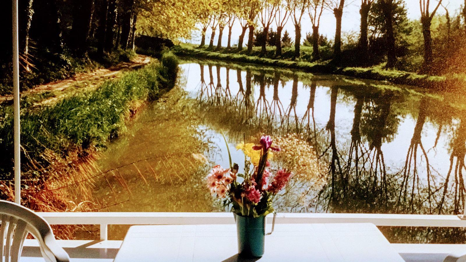 Vier Jahre lang lebte ich in meinem Boot auf dem Canal du Midi. Foto: Hilke Maunder
