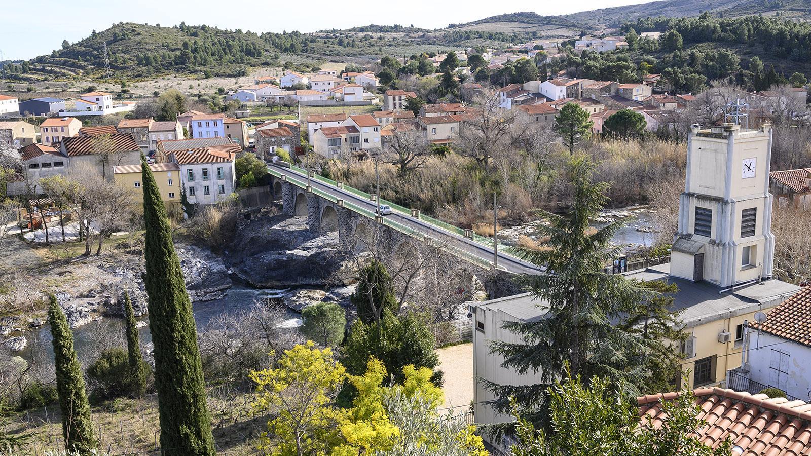 Cases-de-Pene, Blick vom Belvedere gen Süden. Foto: Hilke Maunder
