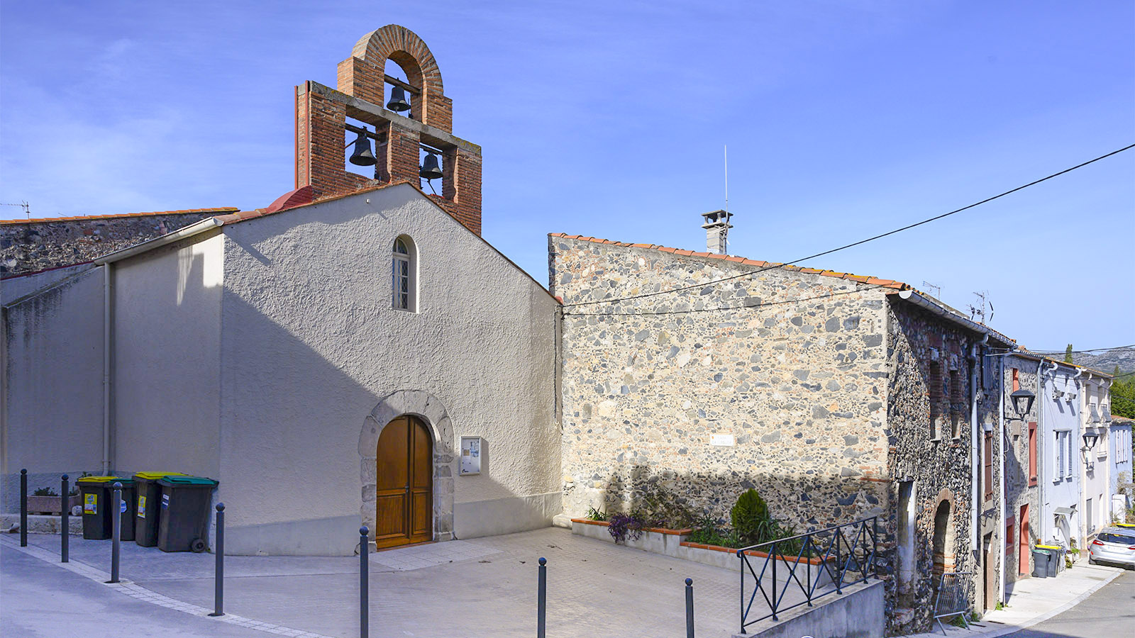 Die Église Pantaléon von Cases-de-Pène. Foto: Hilke Maunder