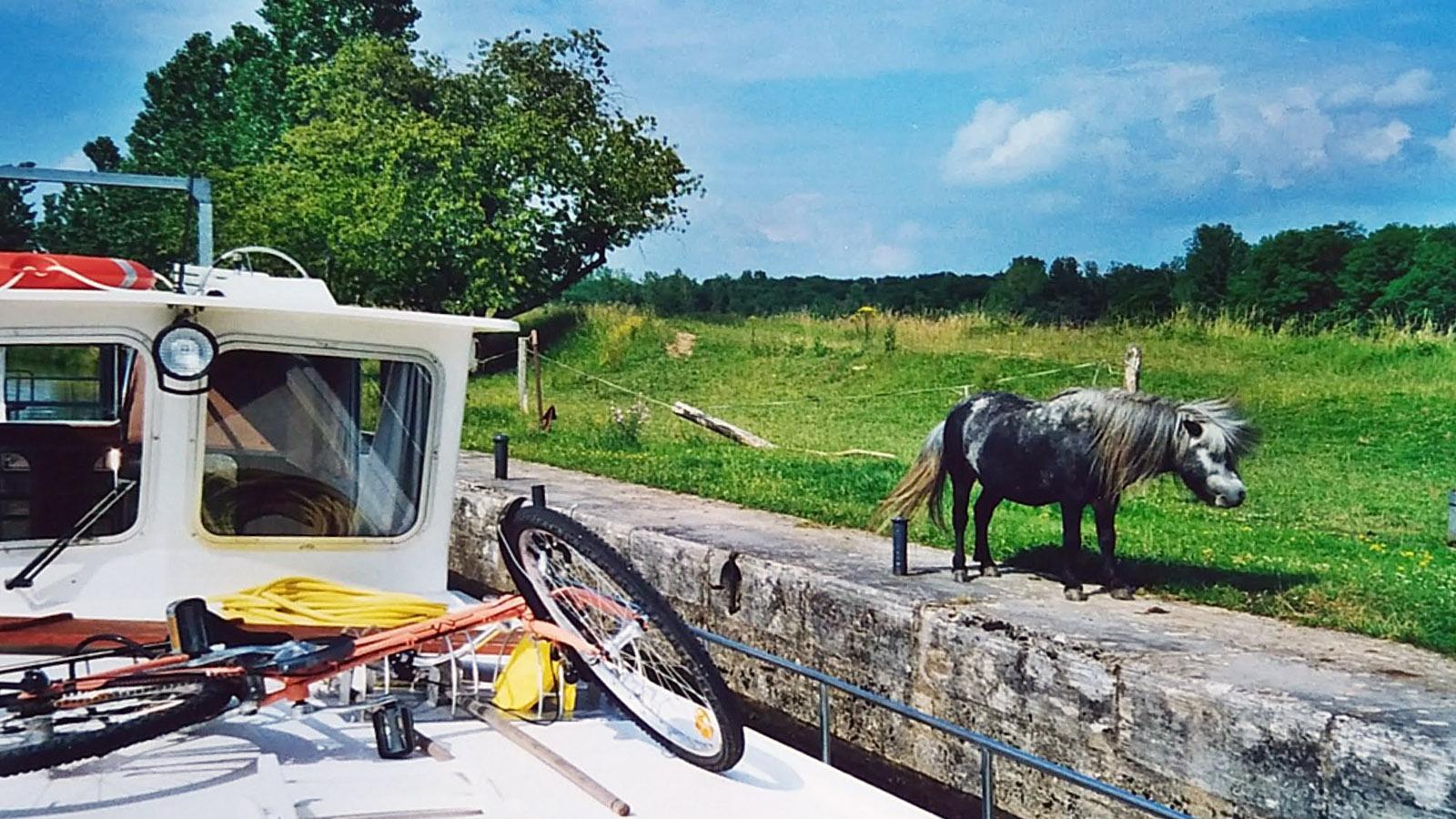 Unterwegs am dem Kanal. Foto: Gerda Schoch