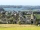 Blick auf die Rance und den Weinberg von Mont-Garrot. Foto: Berndhard Begne / Region Bretagne (Pressebild)