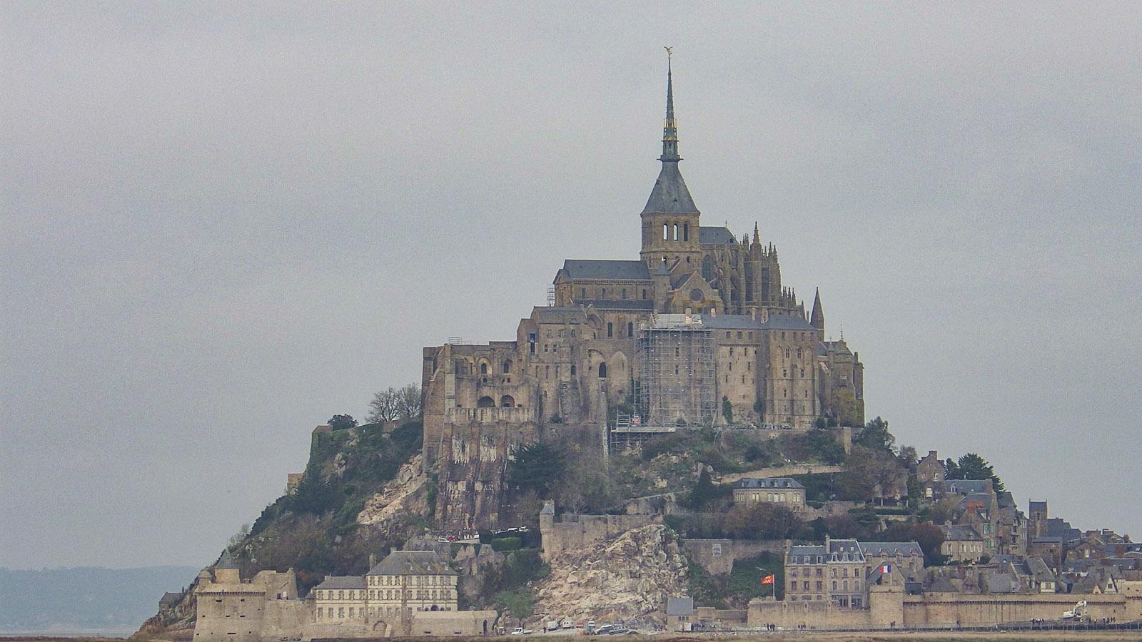 Der Mont Saint-Michel Ende November. Foto: Jutta Fassbender