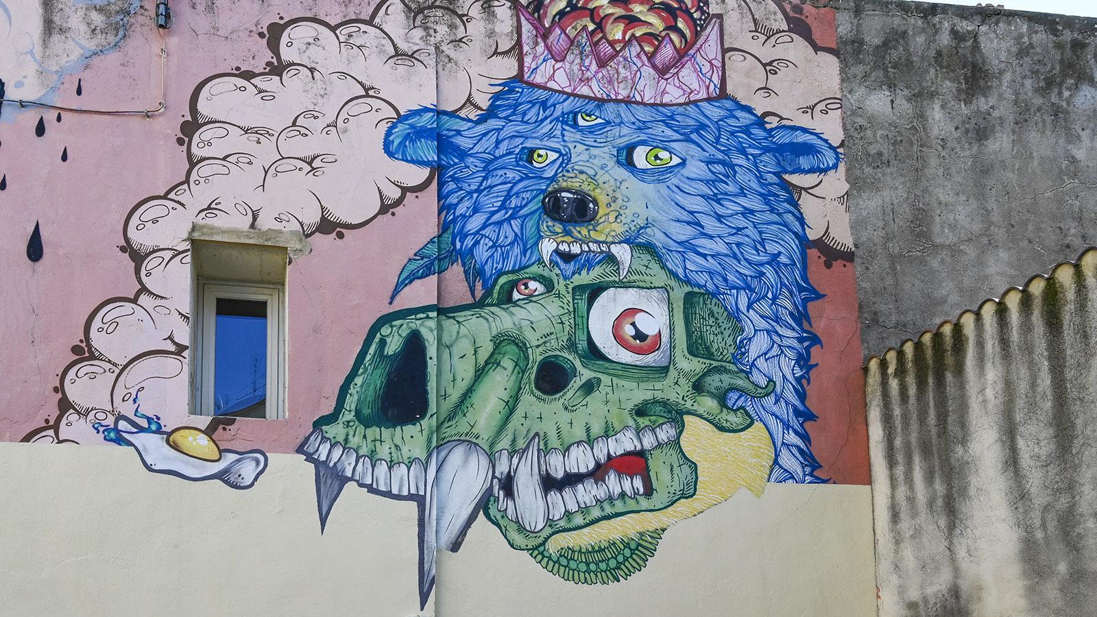 Streeet Art Nîmes, Richelieu: Hazo. Foto: Hilke Maunder