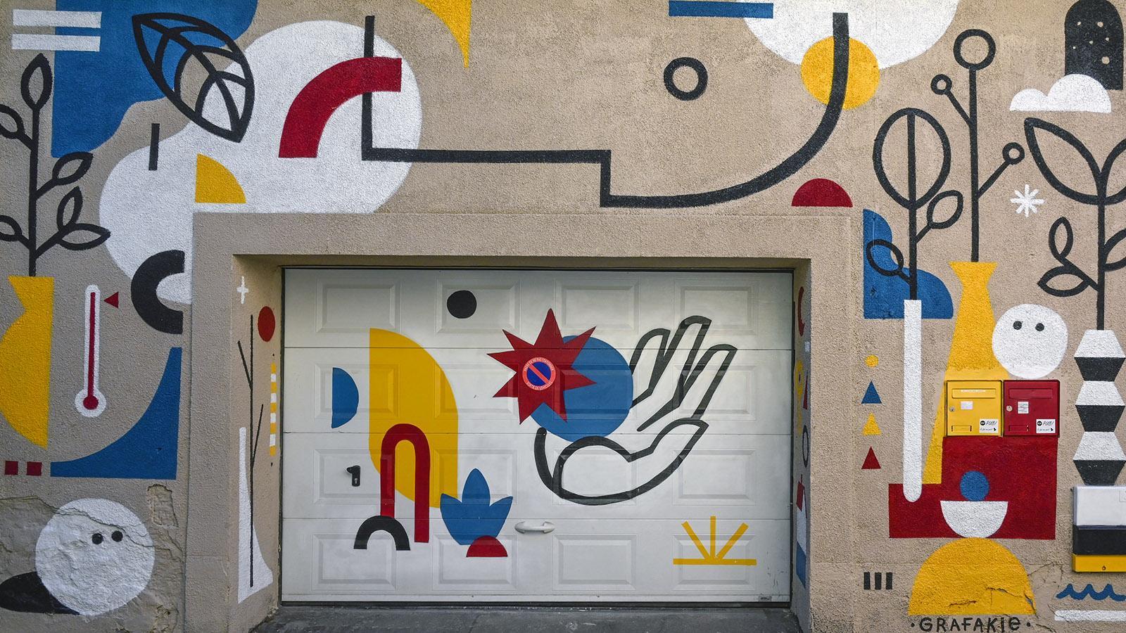 Grafikie, Rue des Bons Enfants 30. Foto: Hilke Maunder