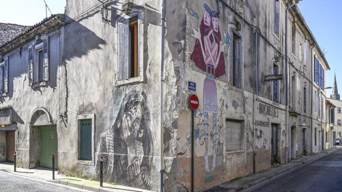 Nîmes Street Art Richelieu. Foto: Hilke Mander