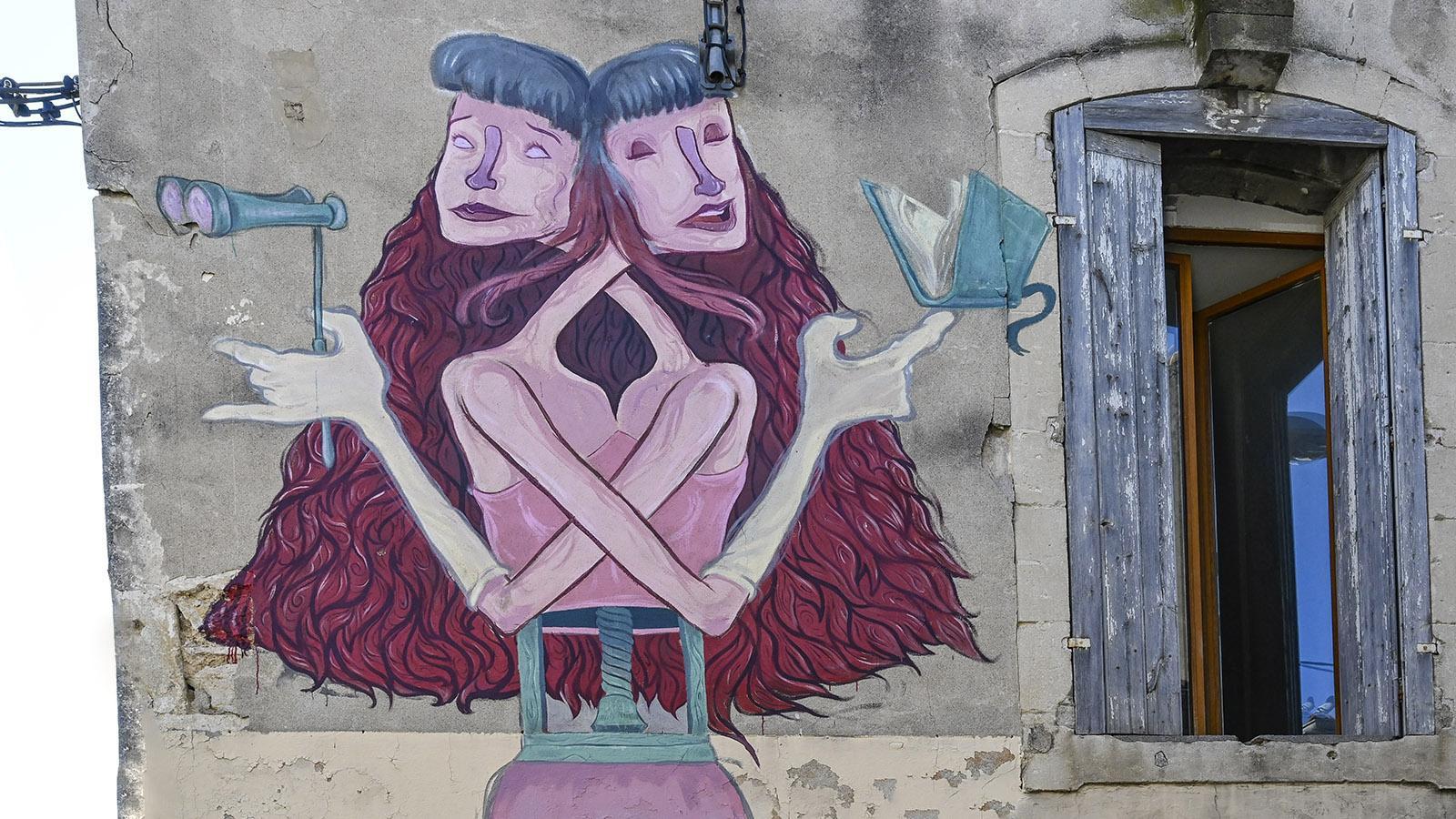 Street Art Nîmes, Richelieu: Primal Graphic. Foto: Hilke Maunder