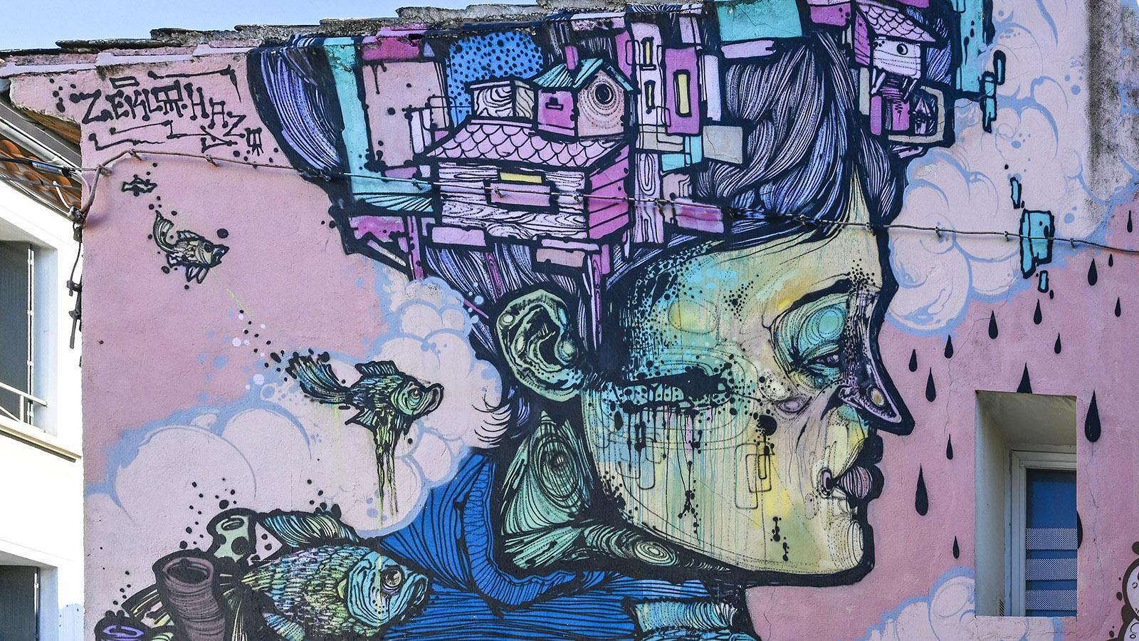 Street Art in Nîmes: Zeklo in Richelieu. Foto: Hilke Maunder