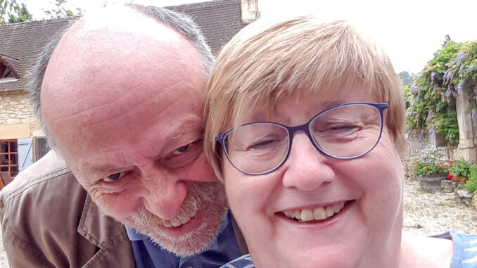 (v.l.) Peter und Jutta Fassbender. Foto: privat