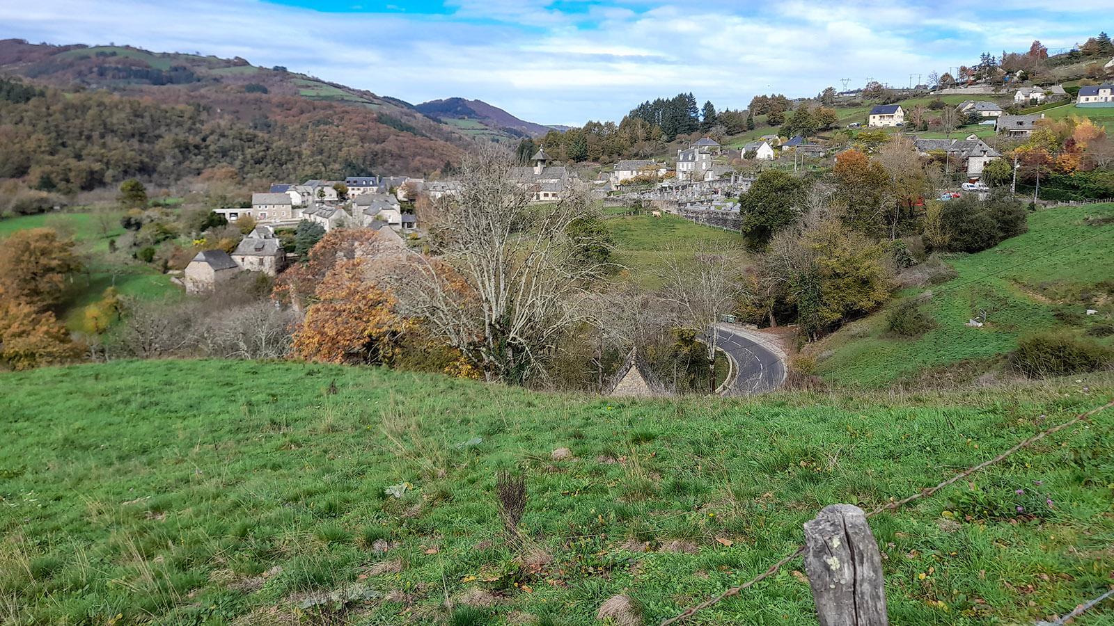 Unser Dorf im Aveyron. Foto: Verena Jacqueline Thalmann