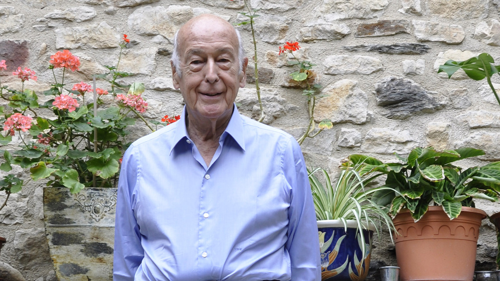 Giscard d'Estaing im Jahr 2010. Foto: Verena Jacqueline