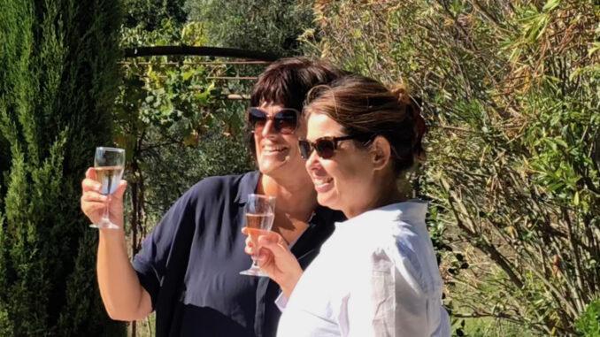 Freundinnen beim Rosé. Foto: privat