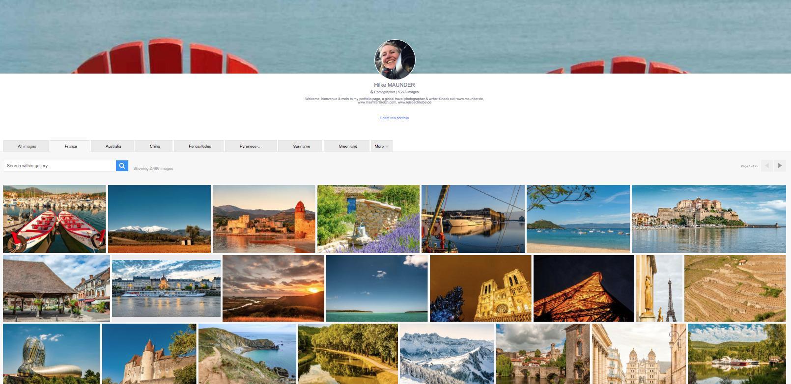 Hilke Maunder: Frankreich bei Alamy